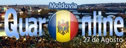 Después de declararse independiente, el 27 de agosto de 1991, Moldavia adoptó como bandera la tricolora rumana con la coletilla de un escudo moldavo. El himno nacional rumano, también fue adoptado como himno moldavo.