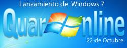 22 de OCtubre de 2009, la empresa estadounidense de software Microsoft lanza su nuevo sistema operativo Windows 7.