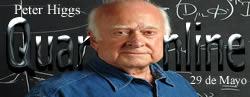 El 29 de Mayo de 1929 nace Peter Higgs, físico británico.
