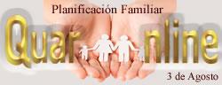 Día internacional de la planificación familiar.