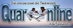 Día internacional del Taekwondo.