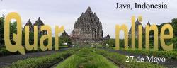 El 27 de Mayo de 2006, en Java, Indonesia padece un violento terremoto de magnitud 6.1 en la Escala de Richter, mueren más de 8000 personas y más de 32000 resultan heridas.