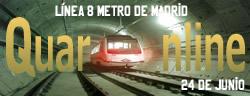 24 de Junio de 1998, en Madrid (España), se inaugura el primer tramo de la línea 8 del Metro de Madrid.