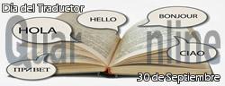 Día internacional del Traductor y el Intérprete .
